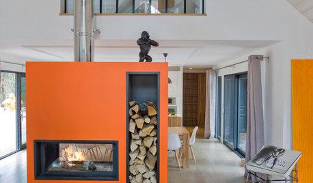 Makalösa kaminer och eldstäder som förhöjer hemmet
