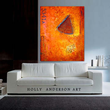 Contemporary Abstract Art for Modern Spaces -CARTE POSTALE