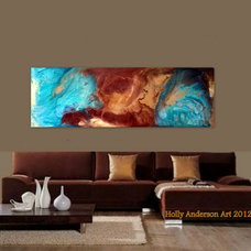 Contemporary Living Room by Holly Anderson Fine Art