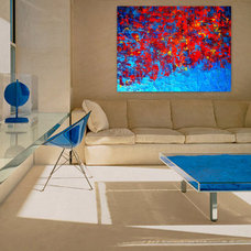 Modern Living Room by Holly Anderson Fine Art
