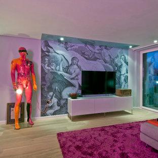 Contemporary & Colourful Loft