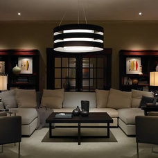 Modern Living Room by Northwest Lighting and Accents