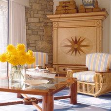 Modern Living Room by Anthony Baratta LLC