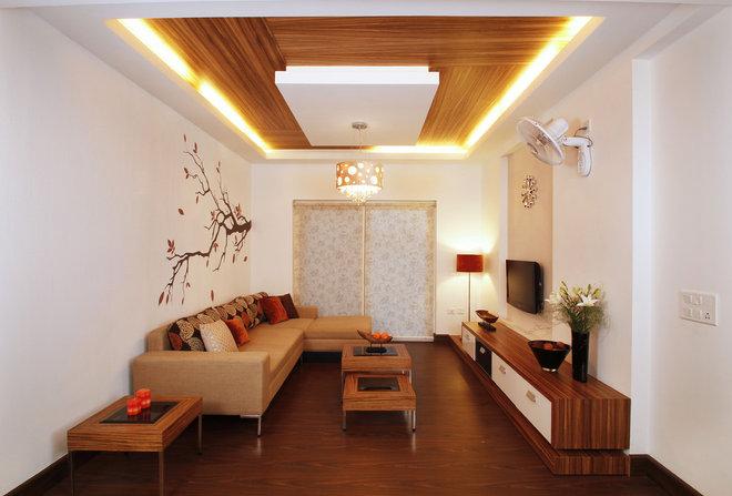 Contemporary Living Room by Savio & Rupa Interior Concepts (Bangalore)