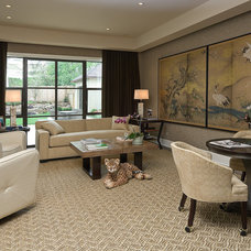Contemporary Living Room by Jack Arnold Companies