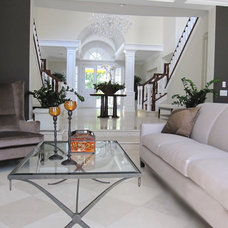 Contemporary Living Room by Cottages and Castles