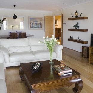 Contemporary Asian Living Room
