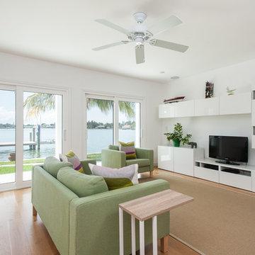 Contemporary Beach Home Remodel