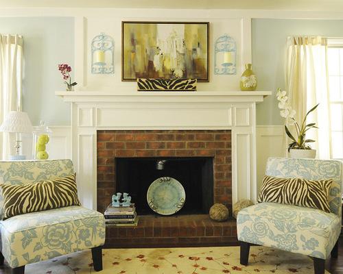 Brick Fireplace Decorating Ideas. Brick Fireplace Decorating Ideas   Houzz