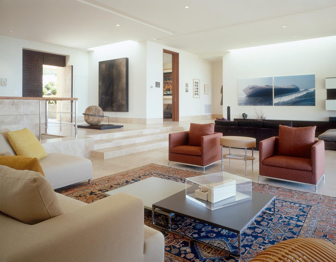 contemporary living room by Island Architects