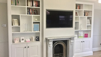 Contemporary Bespoke Alcove Units