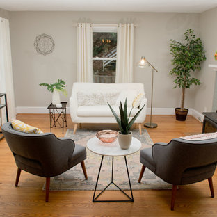 Contemporary Bungalow Staging in Asheville