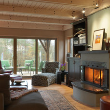 Traditional Living Room by Cushman Design Group
