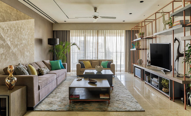 Contemporary Living Room by Studio Osmosis