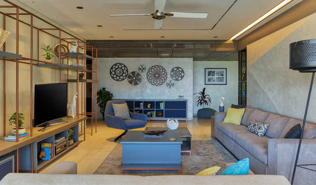 Houzz TV: Love of Nature Finds Expression Through Vastu in This Flat