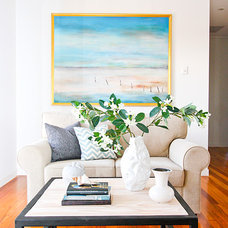 Beach Style Living Room by Ethos Interiors