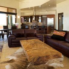 Mediterranean Living Room by David Naylor Interiors