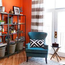 Contemporary Living Room by Atelier Bea Interiors + Design LLC