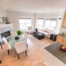 Contemporary Living Room by Tansu Design