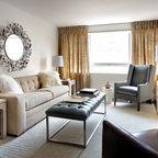 Queenscorp Condo Contemporary Living Room Toronto