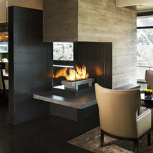 3-sided Fireplace
