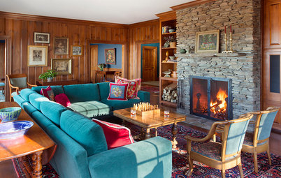 Houzz Tour: A Refined Rustic Look for a New Vermont Farmhouse