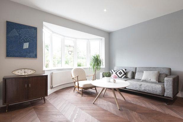 Retro Living Room by Studio Wolter Navarro