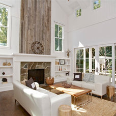 Eclectic Living Room by KCS, Inc.