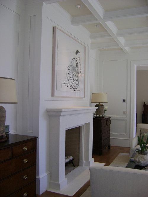 Contemporary Fireplace contemporary fireplace mantels | houzz