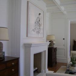 Contemporary Fireplace Mantel -