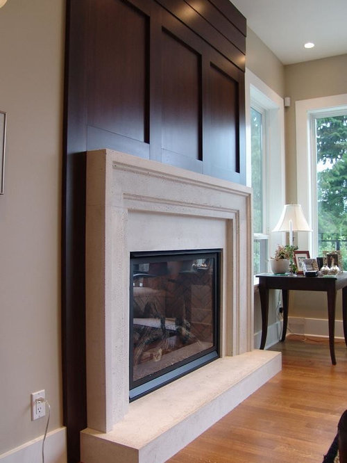 Contemporary Fireplace Mantels Ideas Pictures Remodel