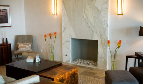 12 Hot Ideas for Fireplace Facing