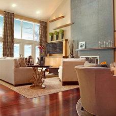 Contemporary Living Room by W Design Interiors