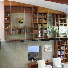 Contemporary Living Room by Fernando Revah