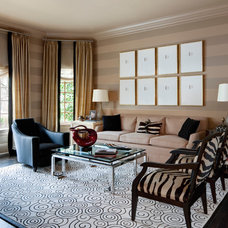 Contemporary Living Room by SGH Designs inc.