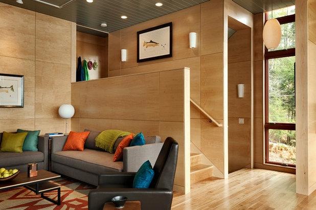 Wandvertäfelung mit Holz: 13 Ideen für eine Holzvertäfelung