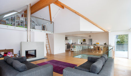 Houzz Tour: Old School Charm Meets Contemporary Coastal in Cornwall