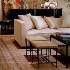 Contemporary Sofas by Jane Antonacci Interior Design