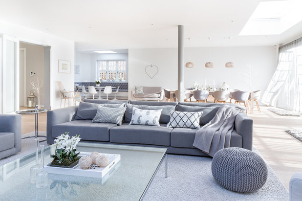 Contemporary Living Room by Town House Interiors