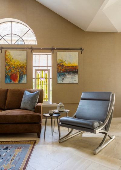 Contemporary Living Room by By Design Interiors, Inc.