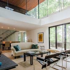 Contemporary Living Room by CityAperture