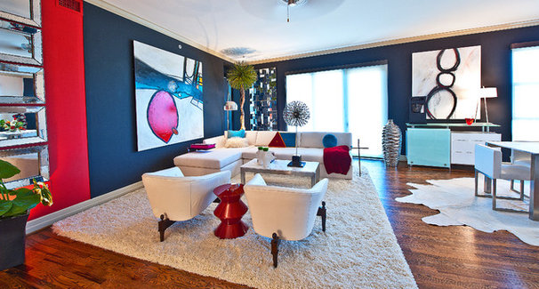 Contemporary Living Room by The Design Firm