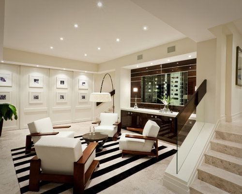 Home Bar Gold Coast Tweed Inspiration for a mid-sized contemporary open concept living room remodel in Gold Coast -