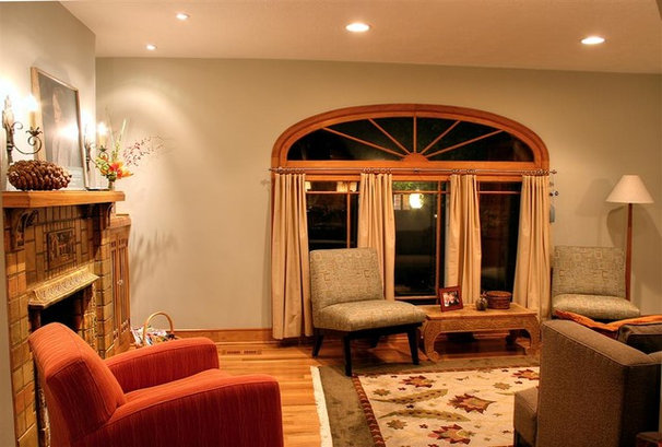 Traditional Living Room by Renovation Design Group