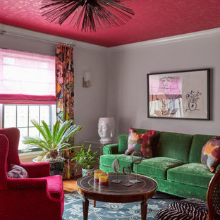 75 Beautiful Red Living Room Pictures Ideas December 2020 Houzz