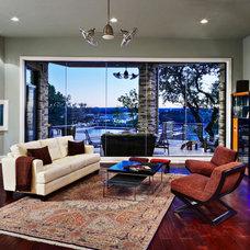 Contemporary Living Room by Pillar Custom Homes, Inc.