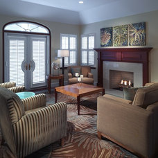 Contemporary Living Room by By Design ltd.