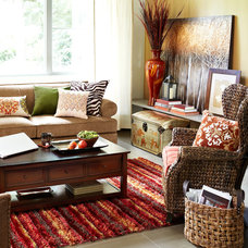 Contemporary Living Room by Pier 1 Imports