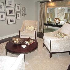 Contemporary Living Room by Savvy Interior Design