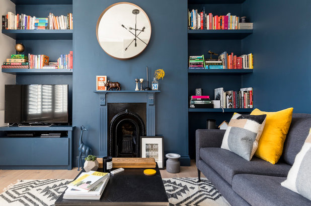 Contemporary Living Room by Andrew Jonathan Design